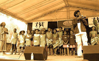 March Forth Kenya Kids Announces World Renowned Painter Gilah Yelin Hirsch as Special Guest of SONGAMBELE Week 2014