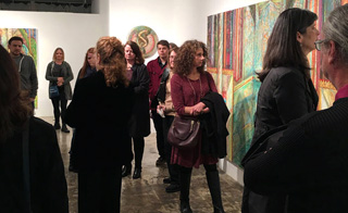Closing Reception for Current Exhibition: Emanation, Radiance, Glimmer, Murmurations