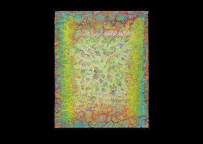 "Series I #5, Transition, 2014, acrylic on canvas, 10"" x 8"""