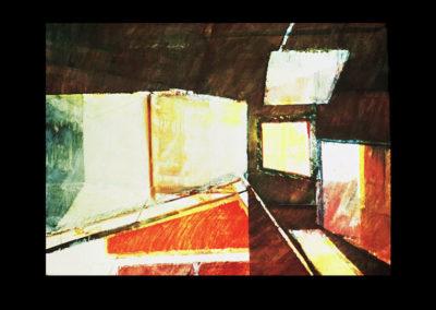 """Desert Light, 1968, oil on canvas, 36"""" x 54"""""""