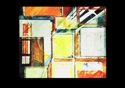 "Miracle of Light, 1968, oil on canvas, 48"" x 60"""