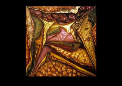 "Sesame, 1973, oil on canvas, 60"" x 48"""