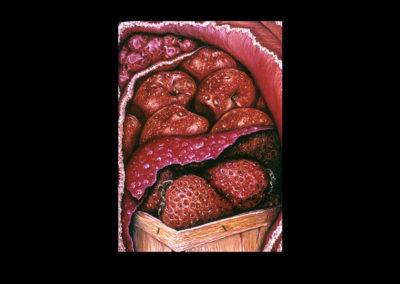 "Snug, 1974, oil on canvas, 25.75"" x 17.75"""