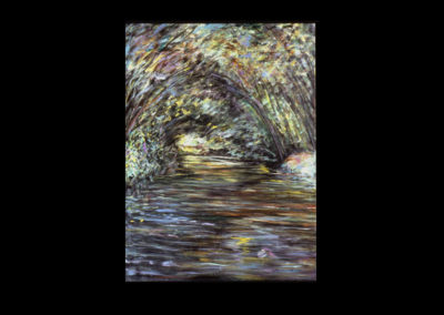"""Light into Form, 1994, Acrylic on canvas, 48"""" x 36"""""""