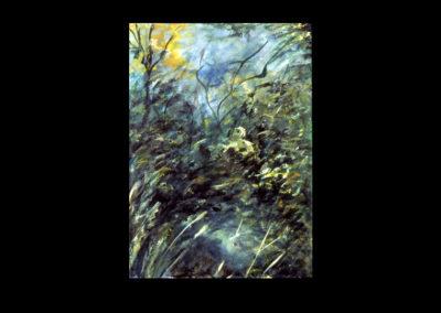 "Drumlin Series #26, 1993, A/Fabriano, 30"" x 22"""