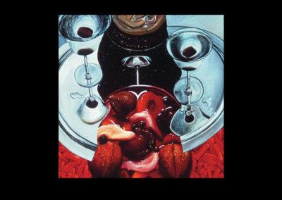 "Dante's Centrifuge, 1970, oil on canvas, 72"" x 72"""