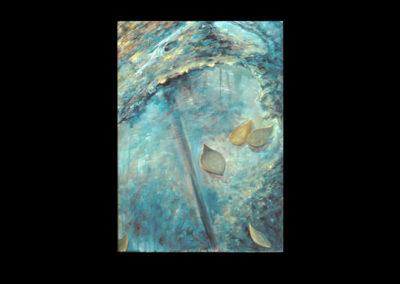 "Drumlin Series #32, 1993, A/Fabriano, 30"" x 22"""