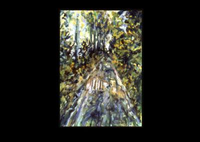 """Annaghmakerrig Postcard Series #22, 1993, A/Arches, 6"""" x 4.25"""""""