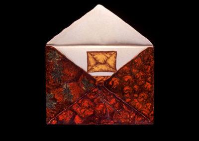"Tamarind Sesame Suite Envelope #2, 1973, lithograph, 20"" x 27.5"""