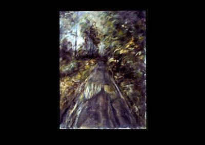 "Drumlin Series #14, 1993, A/Fabriano 30"" x 22"""