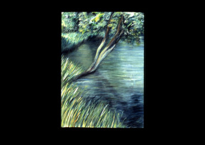 "Drumlin Series #22, 1993, A/Fabriano 30"" x 22"""
