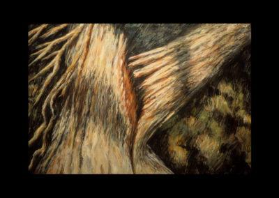 """Heartbreak, 1985, oil on canvas, 18"""" x 28"""""""