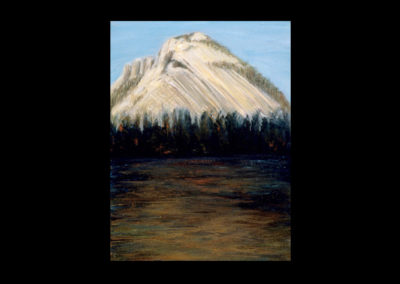 """Rundle 1, 1985, oil on canvas, 12 of 9"""" x 12"""""""