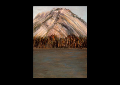 """Rundle 3, 1985, oil on canvas, 12 of 9"""" x 12"""""""