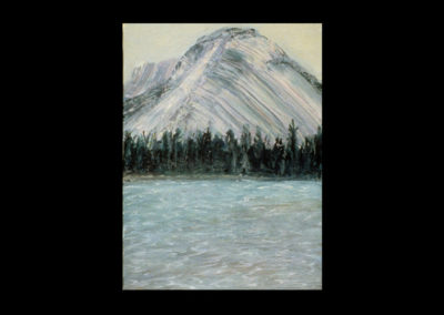 """Rundle 4, 1985, oil on canvas, 12 of 9"""" x 12"""""""