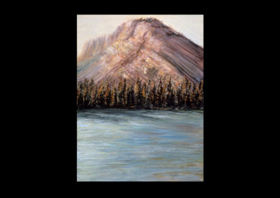 """Rundle 5, 1985, oil on canvas, 12 of 9"""" x 12"""""""