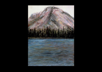 """Rundle 6, 1985, oil on canvas, 12 of 9"""" x 12"""""""