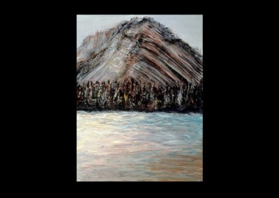 """Rundle 7, 1985, oil on canvas, 12 of 9"""" x 12"""""""