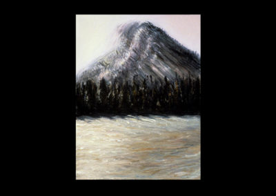 """Rundle 8, 1985, oil on canvas, 12 of 9"""" x 12"""""""