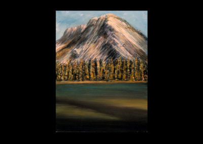 """Rundle 9, 1985, oil on canvas, 12 of 9"""" x 12"""""""