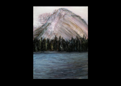 """Rundle 10, 1985, oil on canvas, 12 of 9"""" x 12"""""""