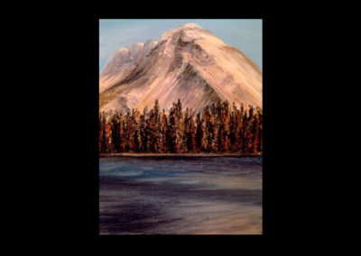 """Rundle 11, 1985, oil on canvas, 12 of 9"""" x 12"""""""