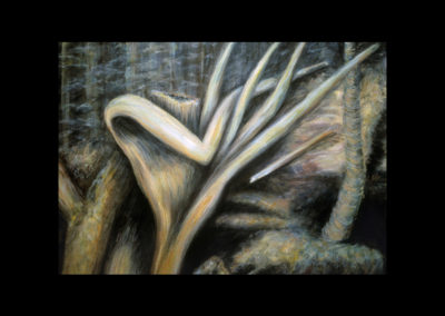 """1985 Hand of Nature, 1985, oil on canvas, 18"""" x 26"""""""