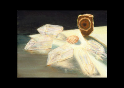 """Gift of Time and Light, 1985, oil on canvas, 9"""" x 12"""""""